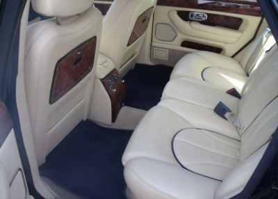 Atlas Wedding cars - inside car