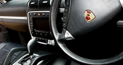 Atlas wedding car hire - inside Porsche Cayenne